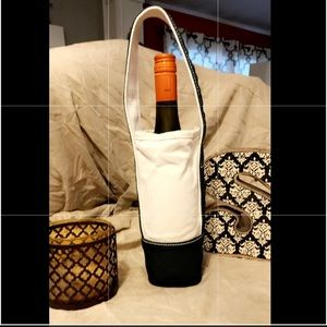 Lands End Single Bottle Wine Tote